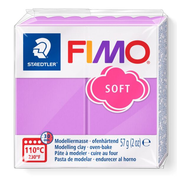 Fimo Soft Modelling Clay - Lavender 1