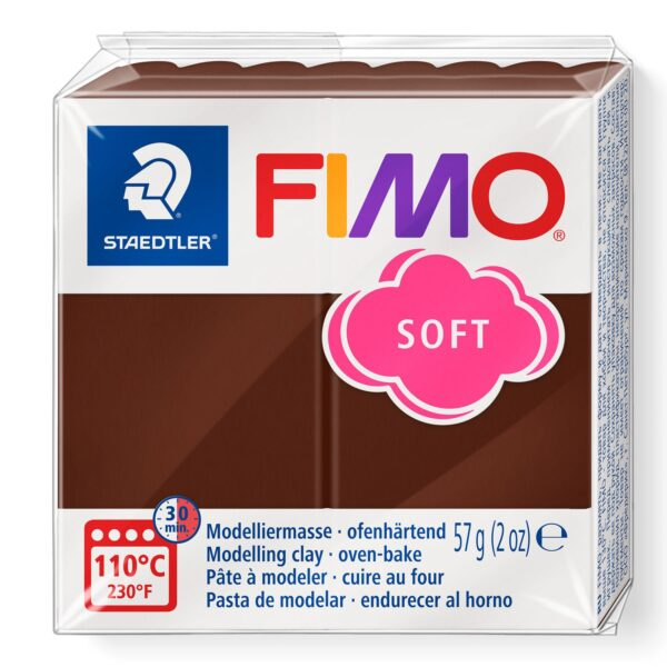 Fimo Soft Modelling Clay - Chocolate 1