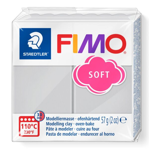 Fimo Soft Modelling Clay - Dolphin Grey 1