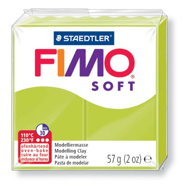 Fimo Soft Modelling Clay - Green Lime 1