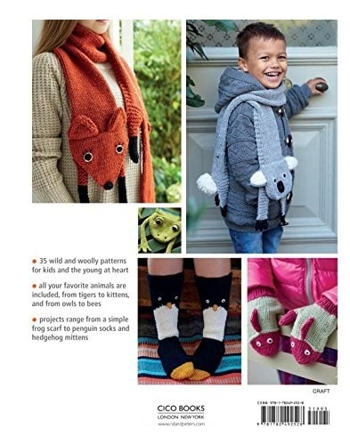 Knitted Animal Scarves, Mitts and Socks - Fiona Goble 5