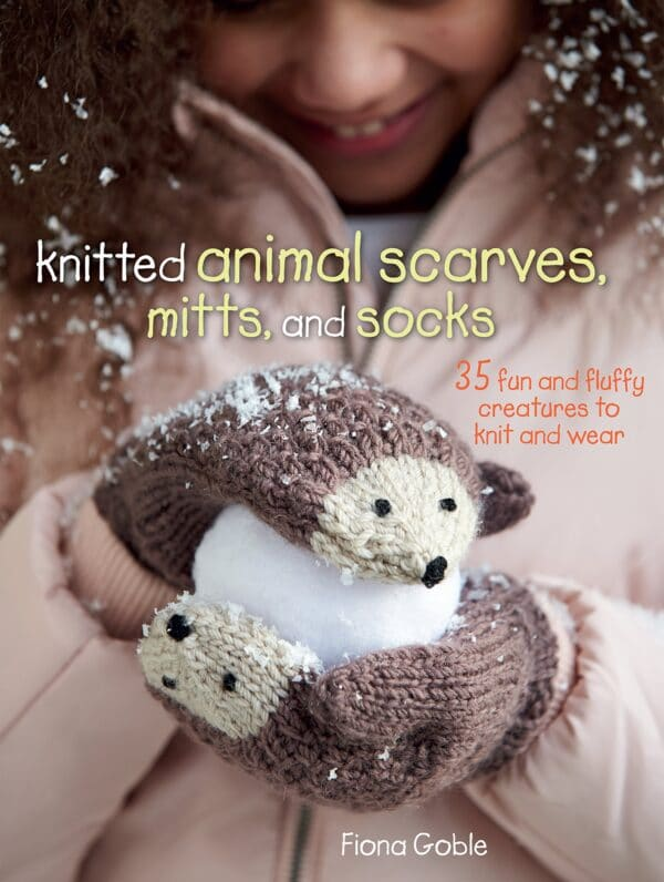 Knitted Animal Scarves, Mitts and Socks - Fiona Goble 1