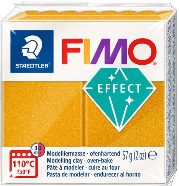 Fimo Effect Modelling Clay - Metallic Gold 1