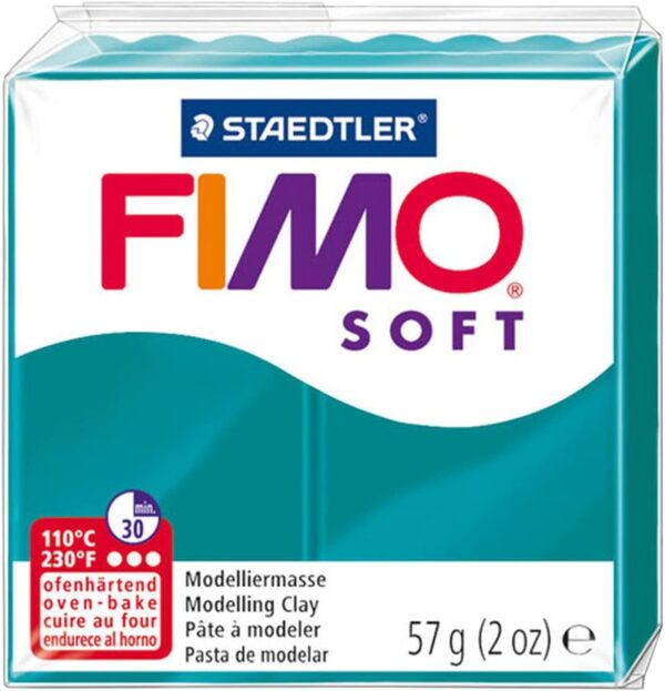 Fimo Soft Modelling Clay - Petrol 1