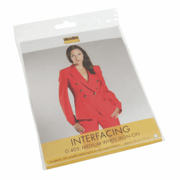 Vlieseline - Interfacing Medium White Iron-on 1