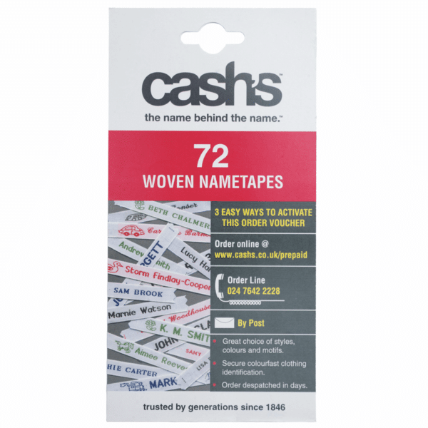 CASH - Woven Name Tapes 1
