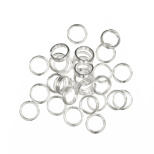 Trimits - Split Rings - 5mm - Silver 1