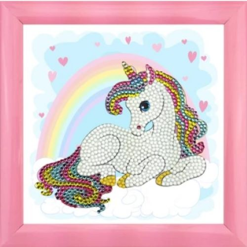 DIY Crystal Art Kits - Frameables - Unicorn Rainbow 1