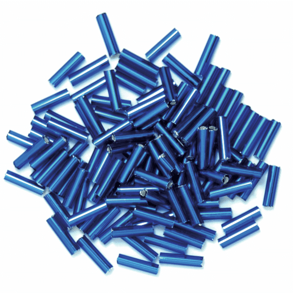 Craft Factory - Bugle Beads - Royal Blue 1