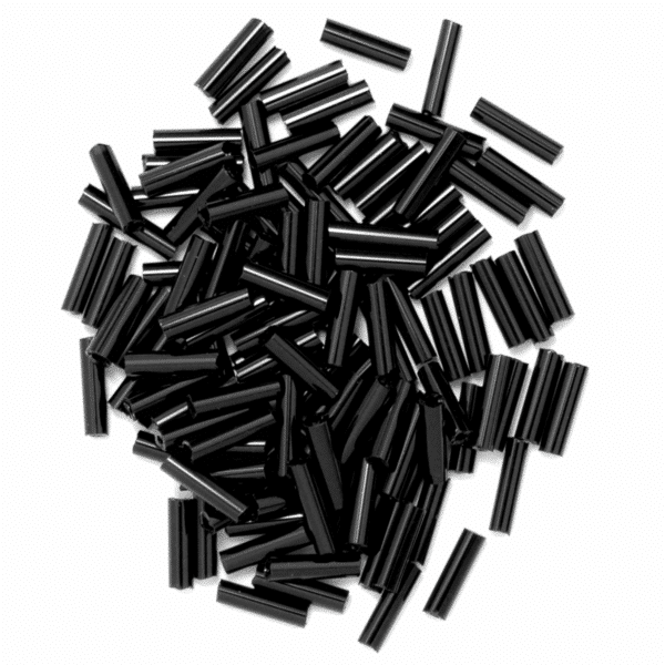Craft Factory - Bugle Beads - Black 1