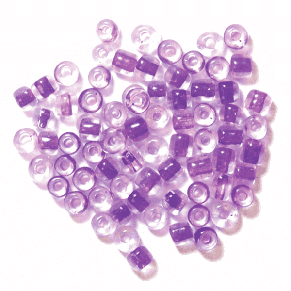 Craft Factory - Embroidery Beads - Lilac 1