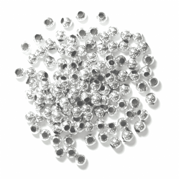 Craft Factory - Pearls - Silver - 3mm 1