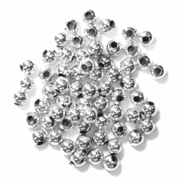 Craft Factory - Pearls - Silver - 4mm 1