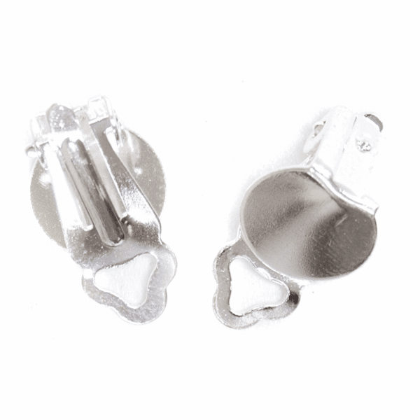 Craft Factory - Ear Clips - Silver Plated 1