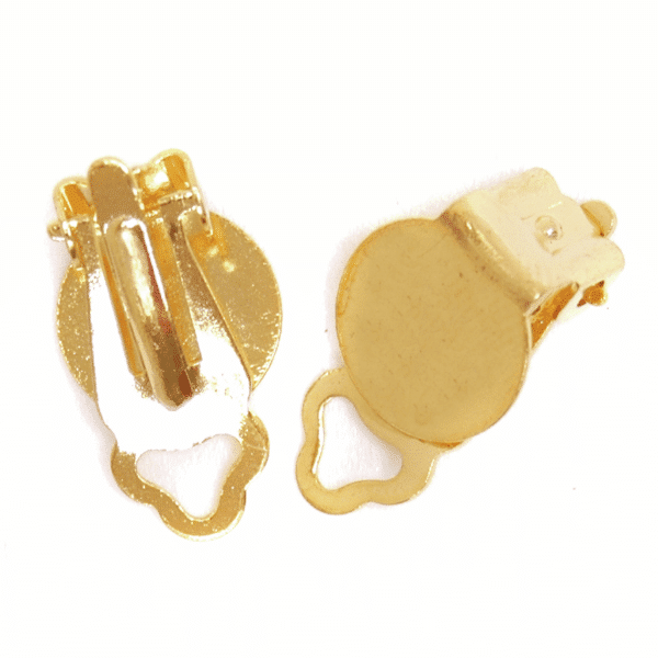 Craft Factory - Ear Clips - Gold Plated 1
