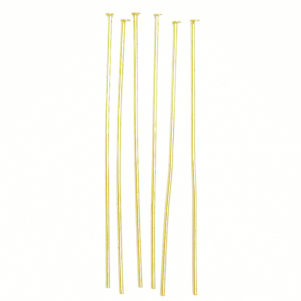 Craft Factory - Head Pins - Gold Plated 1