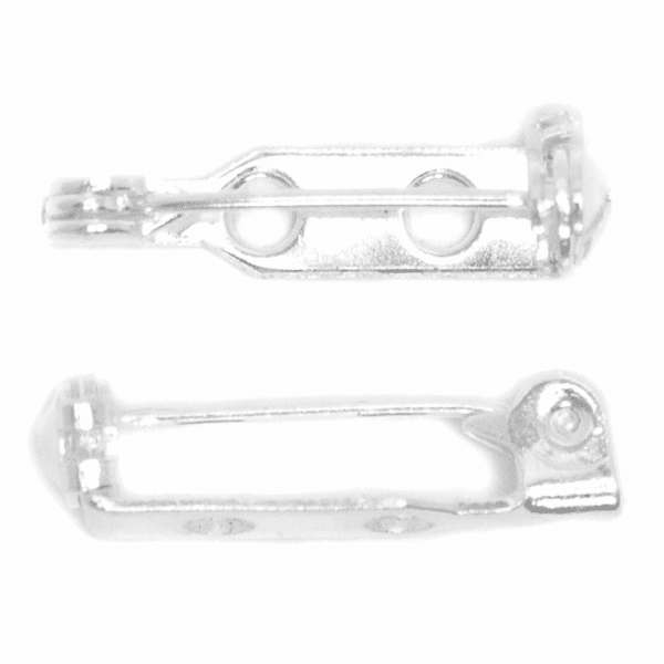 Craft Factory - Brooch Bar - 25mm - Silver Plated 1