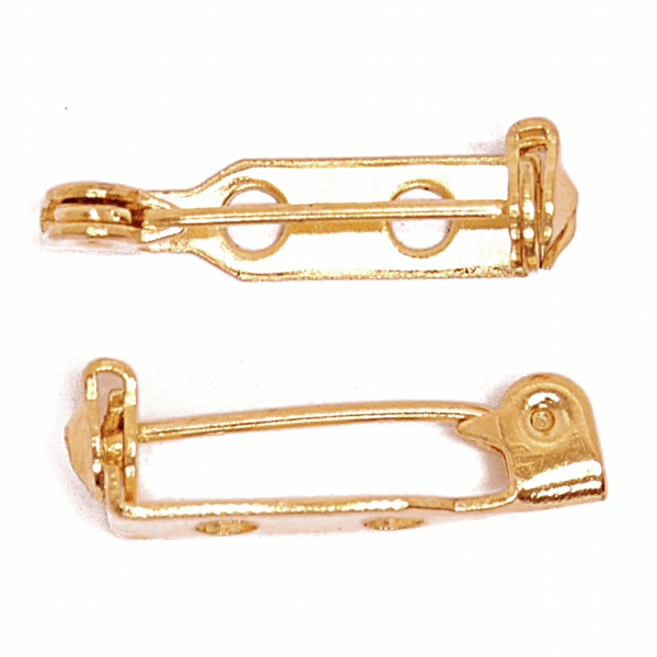 Craft Factory - Brooch Bar - 25mm - Gold Plated 1