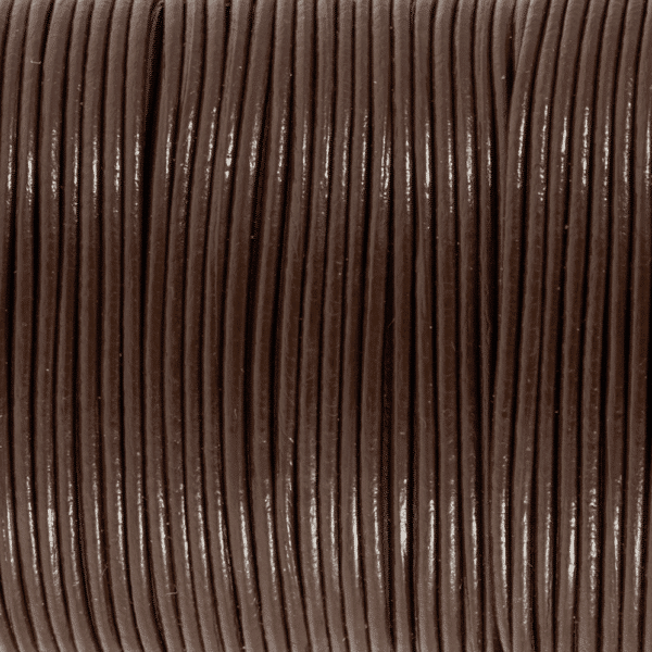 Craft Factory - Leather Thonging - Brown - 1mm x 1m 2