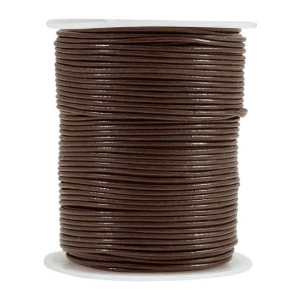 Craft Factory - Leather Thonging - Brown - 1mm x 1m 1