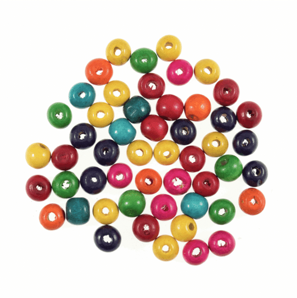 Trimits - Wooden Beads - 10mm - Assorted 1