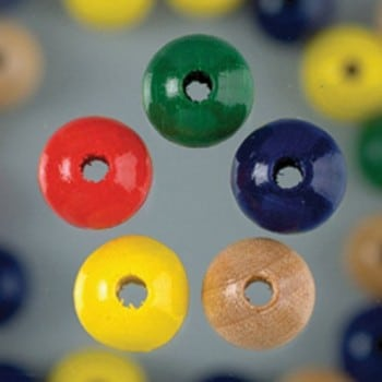 Efco - Wooden Beads - 8mm - Assorted 1