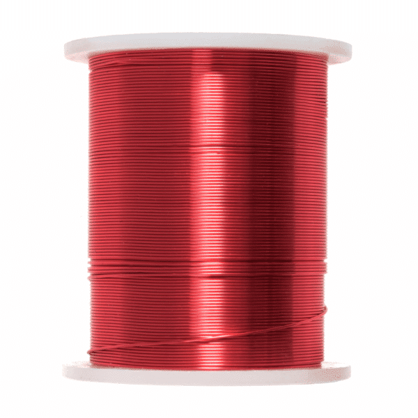 Trimits - Beading Wire - 28 Gauge - Red 1