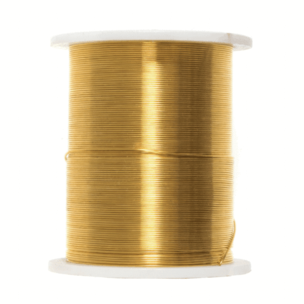 Trimits - Beading Wire - 28 Gauge - Gold 1