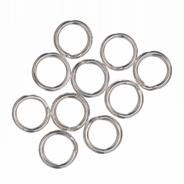 Trimits - Split Rings - 5mm - Silver Plated 1