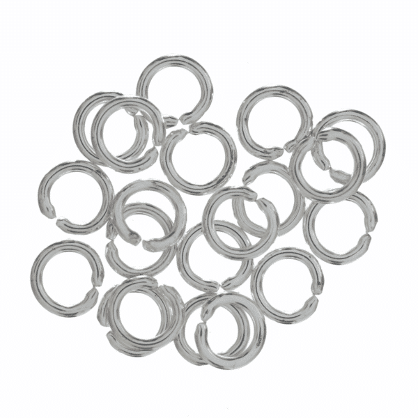 Trimits - Jump Rings - 5mm - Silver Plated 1