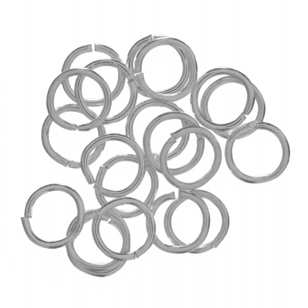 Trimits - Jump Rings - 7mm - Silver Plated 1