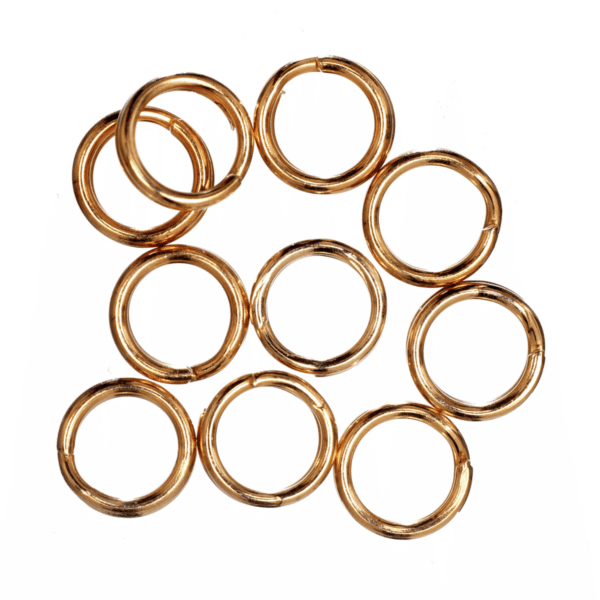 Trimits - Split Rings - 5mm - Gold Plated 1