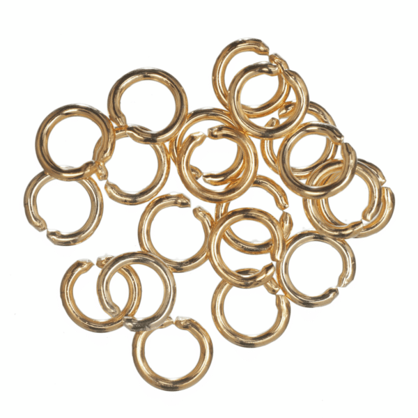 Trimits - Jump Rings - 5mm - Gold Plated 1