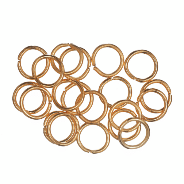 Trimits - Jump Rings - 7mm - Gold Plated 1