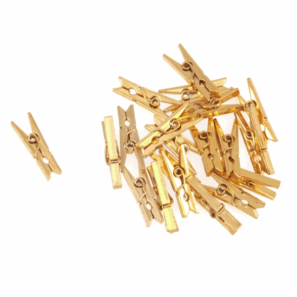 Trimits - Metallic Gold Pegs 1
