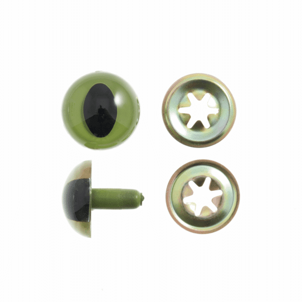 Trimits - Toy Eyes - Green - 18mm 1