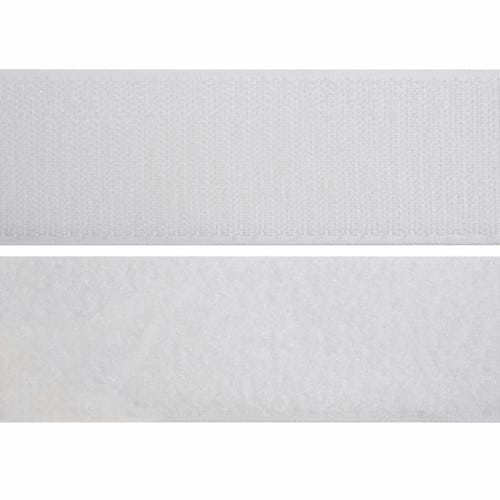 Velcro - Stick & Stick White Hook & Loop Tape 50cm 2