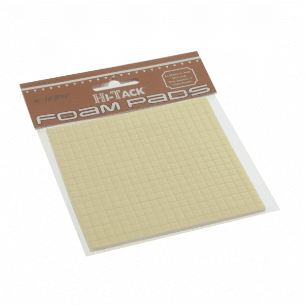 Trimits - Hi-Tack Foam Pads - Square - 3mm x 5mm x 5mm 1