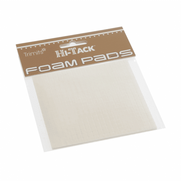 Trimits - Hi-Tack Foam Pads - Square - 1mm x 5mm x 5mm 1