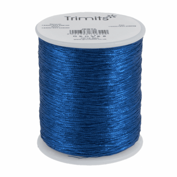 Trimits - Embroidery Thread - Metallic - Blue - 180m 1
