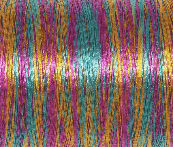 Trimits - Embroidery Thread - Metallic - Rainbow - 180m 2