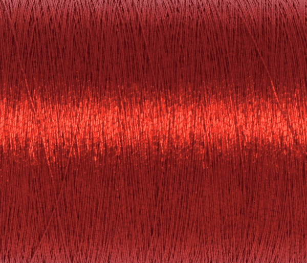 Trimits - Embroidery Thread - Metallic - Red - 180m 2