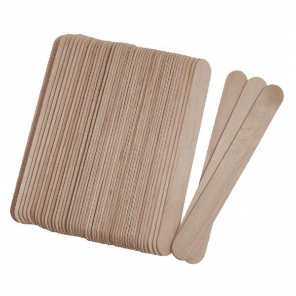 Trimits - Wooden Lollipop Sticks - Natural - 150mm x 18mm x 1.6mm 2