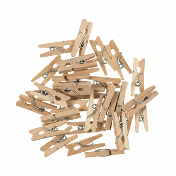 Trimits - Wooden Pegs - Natural 1