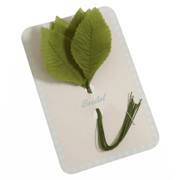 Occasions - Rose Leaves - Green - 33mm 1