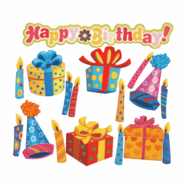 Trimits - Craft Embellishments - Birthday Parcels 1