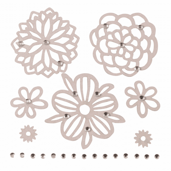 Trimits - Craft Embellishments - Filigree Flowers 1
