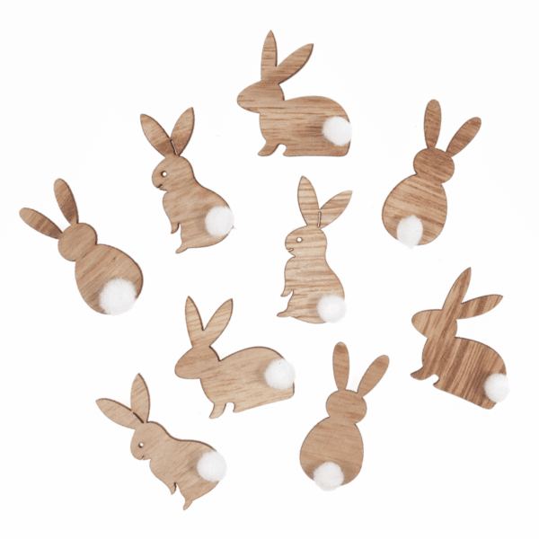 Trimits - Craft Embellishments - Rabbit With Fluffy Tail 1