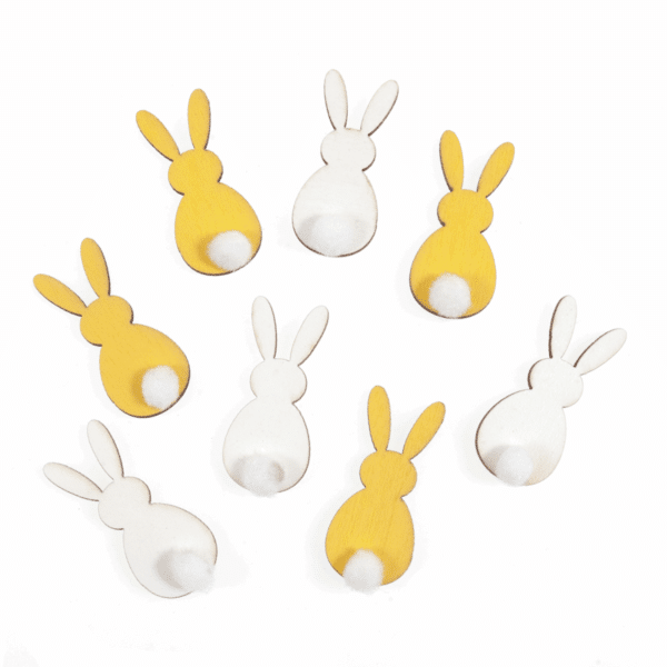 Trimits - Craft Embellishments - Bunny With Fluffy Tail 1
