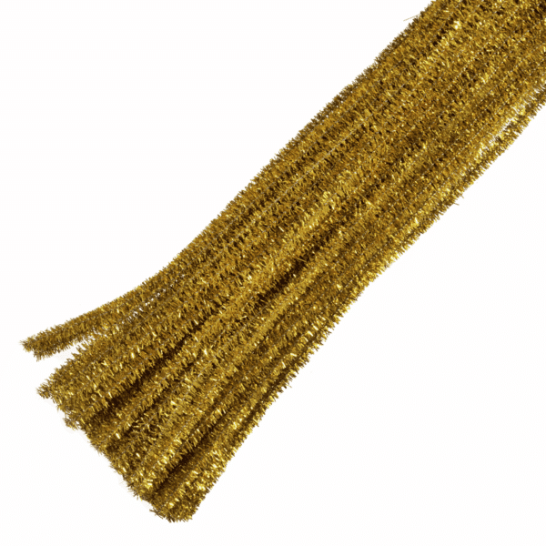 Trimits - Pipe Cleaners - Glitter Gold 1